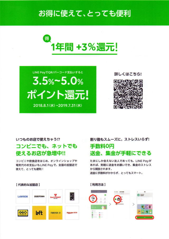 LINE Pay1
