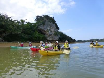 沖縄 シーカヤック