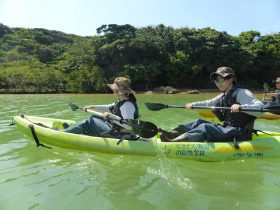 沖縄の自然を全身で感じることが出来ました!